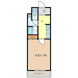 サンシャインアベニュー[3階]の間取り