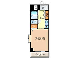 サンロイヤル東丸之内[5階]の間取り