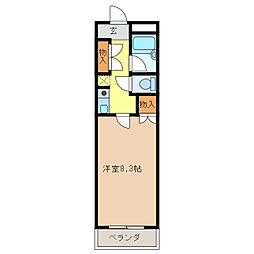 マンション ヒロ[4階]の間取り