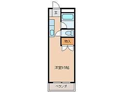 江戸橋ロイヤルハイツ[4階]の間取り