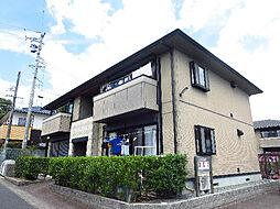 サンガーデンA・B棟[1階]の外観
