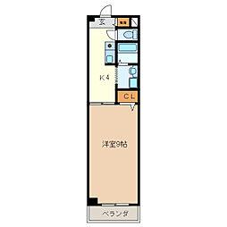 I.L.SHIMAZAKI[1階]の間取り