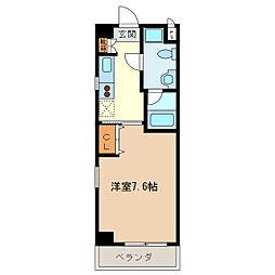 エイムオーエス島崎町マンション[6階]の間取り