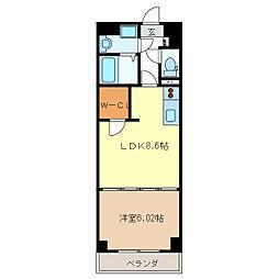 S-FORT 津新町[1階]の間取り