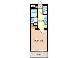 SHG島崎[5階]の間取り