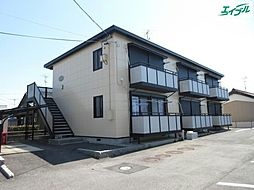 三重県津市河芸町中別保の賃貸アパートの外観