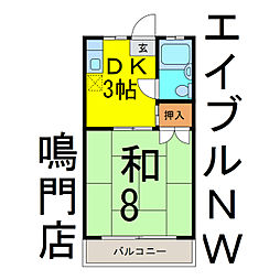 【敷金礼金0円!】バス ****駅 バス 鳴門教育大学前下車 徒歩4分