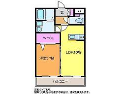 つかさマンション[3階]の間取り