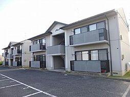 新潟県新潟市南区鯵潟の賃貸アパートの外観