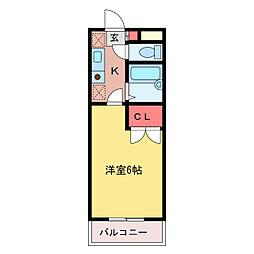 第21増尾ビル[3階]の間取り