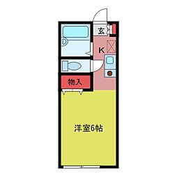 スカイコート[2階]の間取り