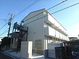 埼玉県坂戸市芦山町の賃貸アパートの外観