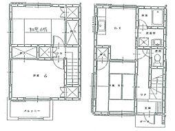 [テラスハウス] 静岡県三島市徳倉3丁目 の賃貸【/】の間取り