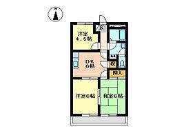 ストーンパレス[2階]の間取り