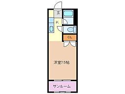 富澤第一ビル[2階]の間取り