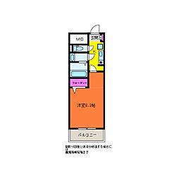 GEO笹口壱番館[2階]の間取り