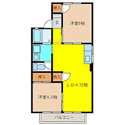 ファミールサカイ[2階]の間取り