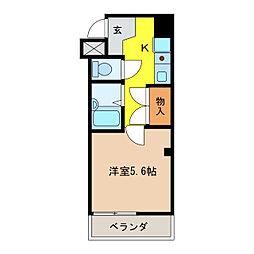 ホープ堀田II[2階]の間取り