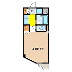 カーサ・センダII[3階]の間取り