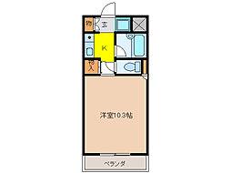 カーサ・センダII[2階]の間取り