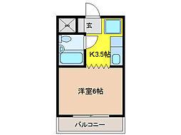 メゾンKOWA[3階]の間取り