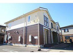 徳島県板野郡北島町江尻字妙蛇池の賃貸アパートの外観