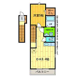 プリマヴェーラ13[2階]の間取り