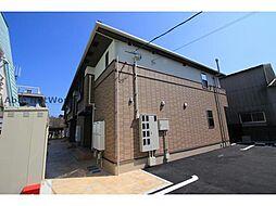 徳島県板野郡藍住町徳命字新居須の賃貸アパートの外観