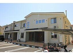 徳島県板野郡藍住町勝瑞字成長の賃貸アパートの外観