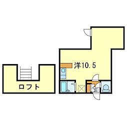 ルートヒルV[2階]の間取り