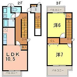 are-cn-ciel[1階]の間取り