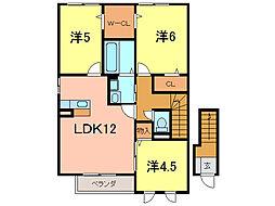 フローラMK[2階]の間取り