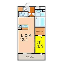 あすか[2階]の間取り