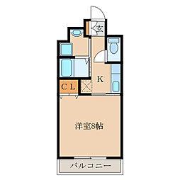 マンションブリランテ[4階]の間取り