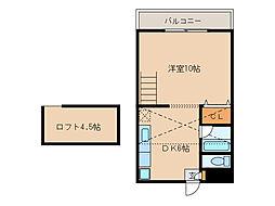 グリーンハイツKANOYAII[2階]の間取り
