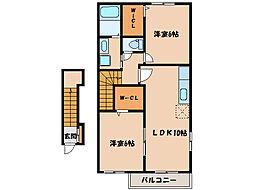 Y・Sコート弐番館I、II、III  [2階]の間取り