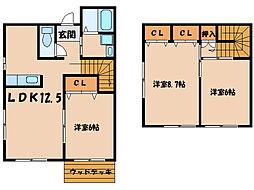 サムシング24[1階]の間取り