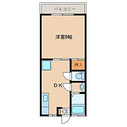 ライトステージ[2階]の間取り
