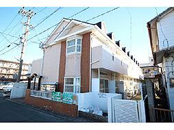 静岡県浜松市中区向宿1丁目の賃貸アパートの外観