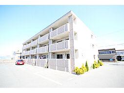 静岡県浜松市南区小沢渡町の賃貸マンションの外観