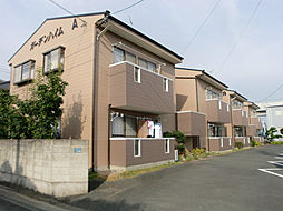 静岡県浜松市中区曳馬1丁目の賃貸アパートの外観