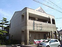 愛知県名古屋市緑区東神の倉2の賃貸アパートの外観