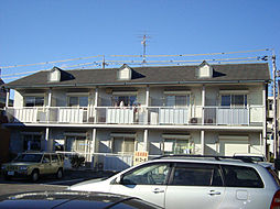 愛知県名古屋市天白区福池1丁目の賃貸アパートの外観