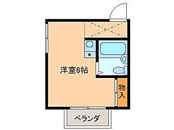 メゾン・ド・KS[2階]の間取り
