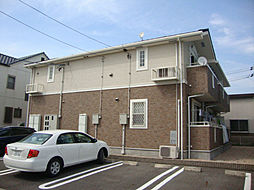 愛知県名古屋市緑区鳴海町字母呂後丁目の賃貸アパートの外観