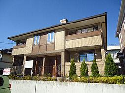 愛知県名古屋市緑区万場山2丁目の賃貸アパートの外観