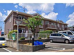 愛知県名古屋市緑区梅里1丁目の賃貸アパートの外観