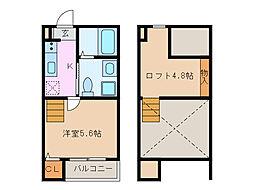 Trois etoiles[1階]の間取り