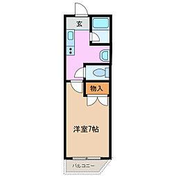メゾンタカハシ[3階]の間取り