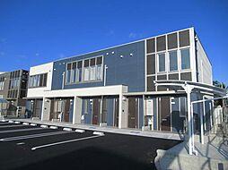 愛知県豊明市二村台1丁目の賃貸アパートの外観
